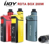 200W IJOY RDTA BOX Full Kit - TEAL / RED EDITION v detaile