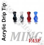 Acrylic MING VASE Drip 510/901 #biely (MIX farieb v detaile)