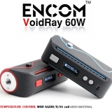 60W ENCOM Voidray VW/TC Box MOD - BLACK-BLUE SPECIAL EDITION