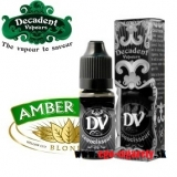 10ml DECADENT VAPOURS - AMBER BLEND (EXP:9/2018)