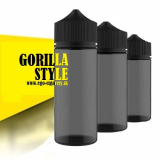 120ml PET FLAŠA GORILLA STYLE - BLACK EDICIA
