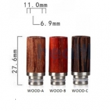 Drip Tip REDWOOD STYLE - WOOD-B