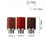 Drip Tip REDWOOD STYLE - WOOD-F