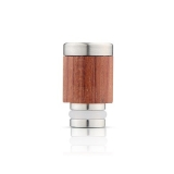 Drip Tip REDWOOD/STEEL STYLE - WOOD-X3