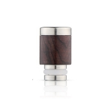 Drip Tip REDWOOD/STEEL STYLE - WOOD-X4