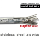 Stainless Steel-AISI CLAPTON 0,50Ø 5-pack 5x14,5cm