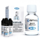100ml AROMEA BASE TPD PACK 15/85 - 6mg (70ml baza + 30ml Booster)