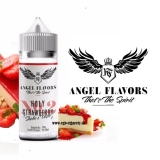 20/120ml PACK - ANGEL FLAVORS EGOIST - HOLLY STRAWBERRY ( Jahodový cheesecake)