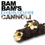 50/60ml BAM BAMS CANNOLI - COOKIES CREAM (EXP:5/2019)