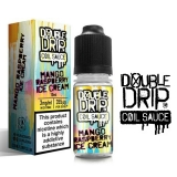 10ml DOUBLE DRIP - Mango Raspberry Ice Cream - 3mg