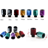 DRIP TIP 510 INLAY ACRYLIC WIDE BORE - BLACK (iné farby v detaile )