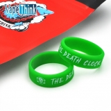 Vapethink Steam Shark Silicone Vape Band The Death Clock - Green