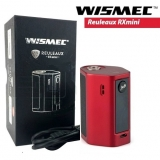 WISMEC REULEUX RX MINI BOX 80W / 2100mAh - BLACK/RED VW - TC Ti/Ni/SS/TCR