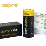 ASPIRE INR 26650 4300mAh High-drain - 40A