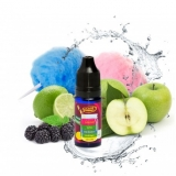 10ml Big Mouth Smooth Summer - Modrá malina,jablko,hruška,cukrova vata,limetka