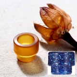 ULTEM DRIP TIP 810 VANDY VAPE - ULTEM YELLOW ( MODRY,ORANGE V DETAILE )