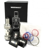 WISMEC AMOR RBA PLUS MTL/DL TANK - STEEL EDITION