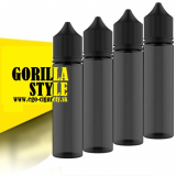 60ml PET GORILLA STYLE FLAŠA - BLACK EDICIA