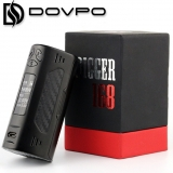DOVPO TRIGGER 168W 2x18650 TC BOX MOD - BLACK EDITION