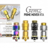 GEMZ PRIME MOVER RTA ATOMIZER - 4 farby v detaile