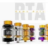 GEMZ AXIS RTA ATOMIZER - STEEL EDITION