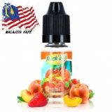 10ml PACK ALO - PEACH STRAWBERRY  (EXP:1/2020)