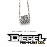 2ks DIESEL VAPE - TWISTED MIX COIL - 0,45ohm