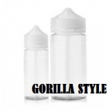 60ml GORILLA FLAŠA STYLE PET - Transparentná