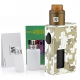 HUGO VAPOR BF SQUEEZER KIT 18650/20700 - CAMO EDITION ( Mod s poistkou ON/OFF )