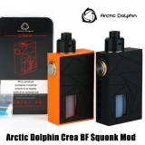 ARCTIC DOLPHIN CREA SQUONK MOD KIT - ORANGE EDITION  ( Mod s poistkou ON/OFF )