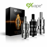 ExVAPE eXpromizer V3 FIRE 4ml MTL TANK - Brushed EDITION ( ORIGINAL GERMANY )