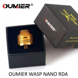 OUMIER WASP NANO BF RDA - BLACK / GOLD ( FARBY V DETAILE )