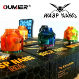 OUMIER WASP NANO BF RDA - RESIN EDITION (Farby v detaile)