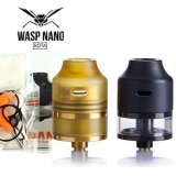 OUMIER WASP NANO RDTA TANK - BLACK / GOLD EDITION