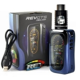 REV GTS 230W MOD CHIP VENOM v1.1 + DRIFT TANK 2ml - BLUE/BLACK EDITION