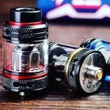 COILART MAGE SUB TANK - BLACK/RED EDITION