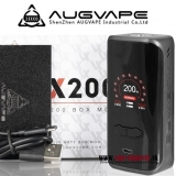 AUGVAPE VX200 BOX MOD 200W TC/VW/VV/BYPASS - BLACK EDITION