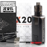AUGVAPE VX200 KIT 200W TC/VW/VV/BYPASS - BLACK