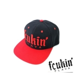 FCUKIN FLAVA ORIGINAL SILTOVKA - BLACK / RED