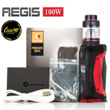 GREEKVAPE AEGIS SOLO 100W + COILART MAGE SUBTANK - BLACK/RED EDITION