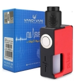 VANDYVAPE PULSE BF 24 SQUONK - PHOBIA RDA BLACK/RED ( SKLADANÝ KIT )