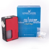 VANDYVAPE PULSE BF 24 SQUONK  - BLACK/RED