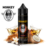 12/60ml MONKEY SHAKE IT - KAPITAN (Tabak,burbon,kokos )