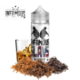 20/120ml SLAVS by.INFAMOUS - TOBACCO BOURBON