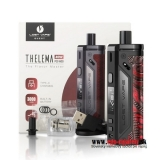 LOST VAPE THELEMA 3000mAh 80W POD - Black/Ukiran Leather