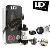 YOUDE ZEPHYRUS V2 6ml  stainless steel atomizer (0.3ohm OCC + DIY ) black
