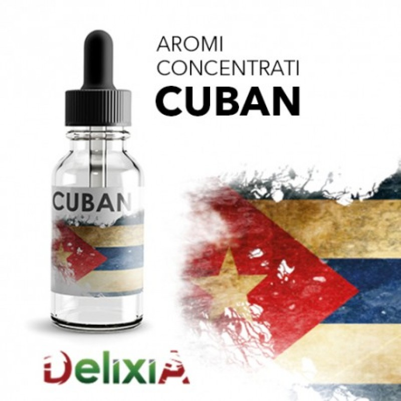 10ml DELIXIA by.ELIXIR TOBACCO - CUBAN TOBACCO (EXP:2/2020)