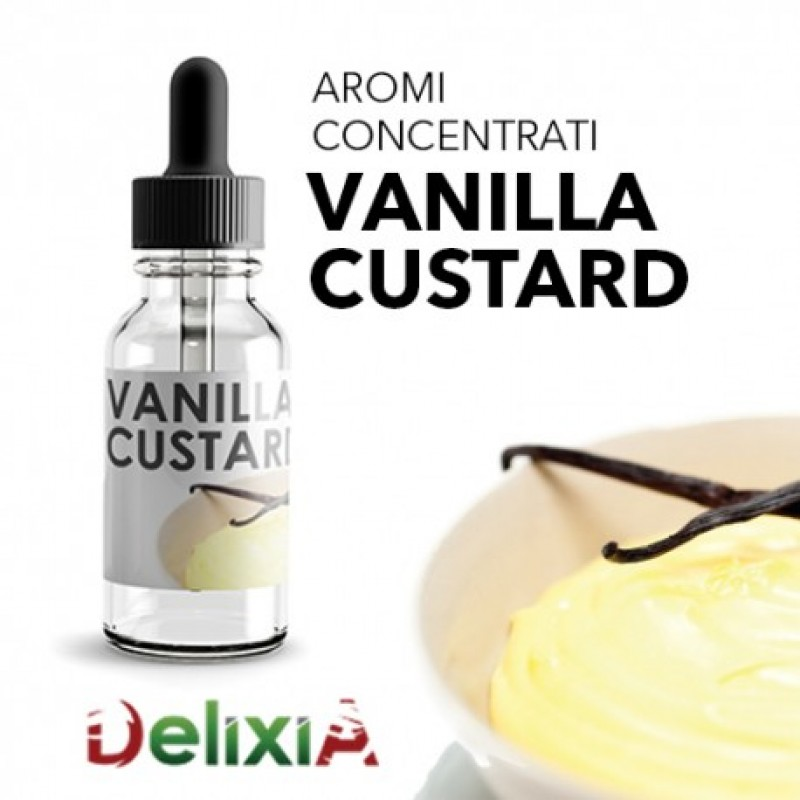 ELIXIR INTERNATIONAL 10ml VANILLA CUSTARD