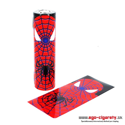 Battery WRAP Skin 18650 - SPIDERMAN