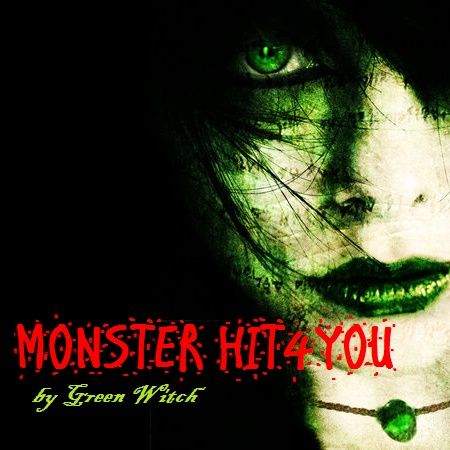 Monster Hit4U - Tobacco 5ml ( Green Witch )